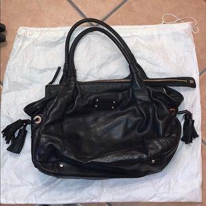 Leather black Kate Spade purse